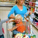 La cumparaturi cu copiii